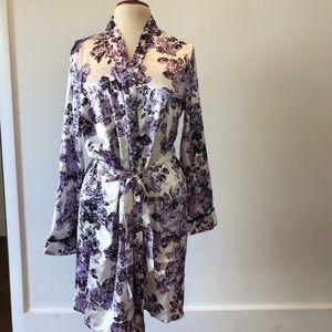 Beautiful silky robe
